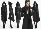 Hooded Witch Hunter Coat Y-611
