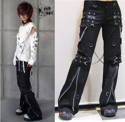 Bondage Trousers with Chains K-028