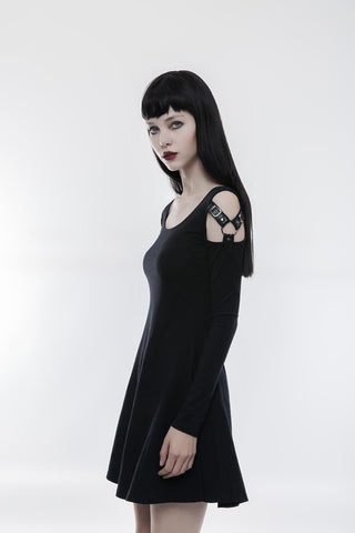 Slim Punk Dress Q-346