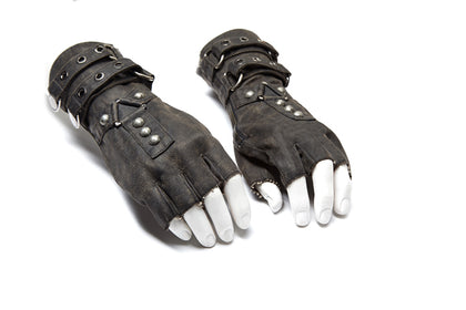 Apocalypse Fingerless Gloves S-252