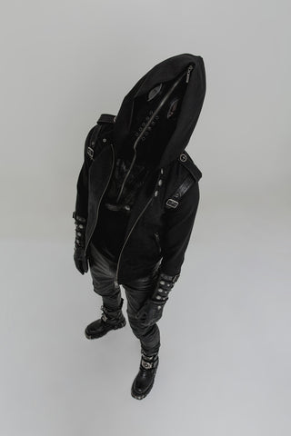 Zip Up Mask Hoody WT-512