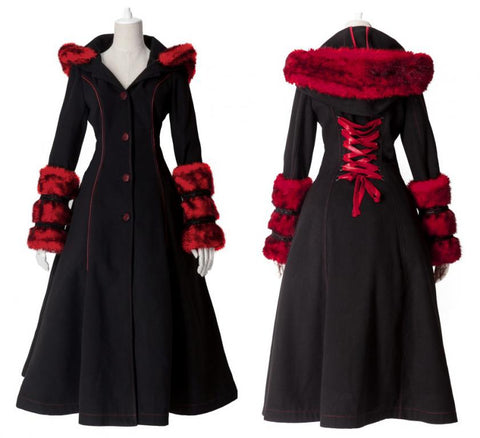 Red Riding Hood Coat LY-036R