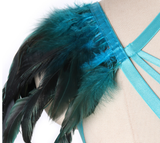 Blue Feather Shoulder Harness