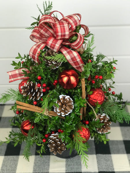 Emma's Rustic Holiday Tree