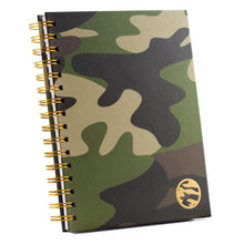 Undated Planner - Green Camo