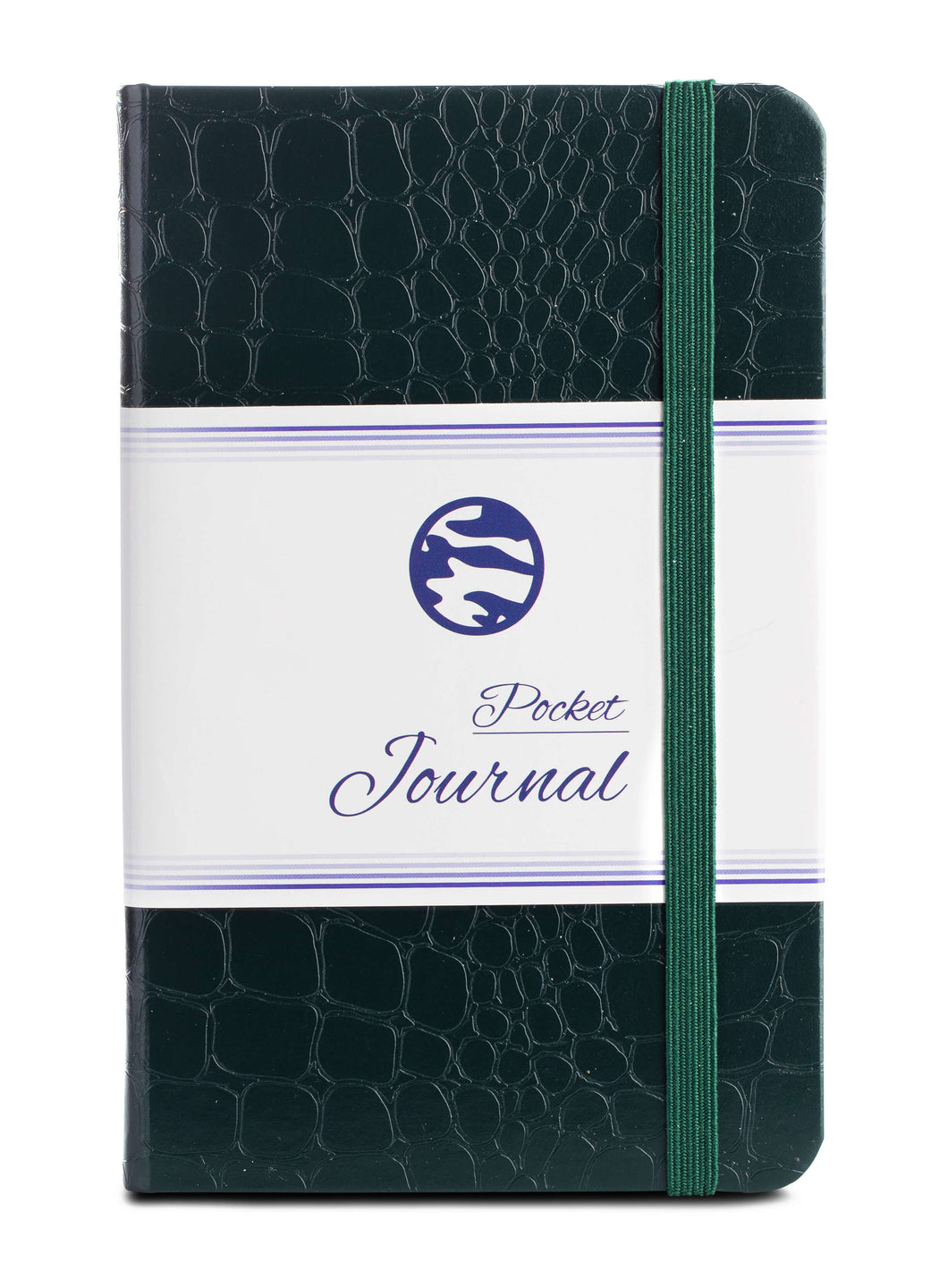 Pocket Journal - Crocodile Green