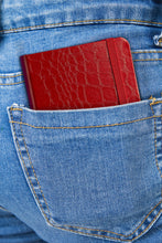 Pocket Journal - Crocodile Red