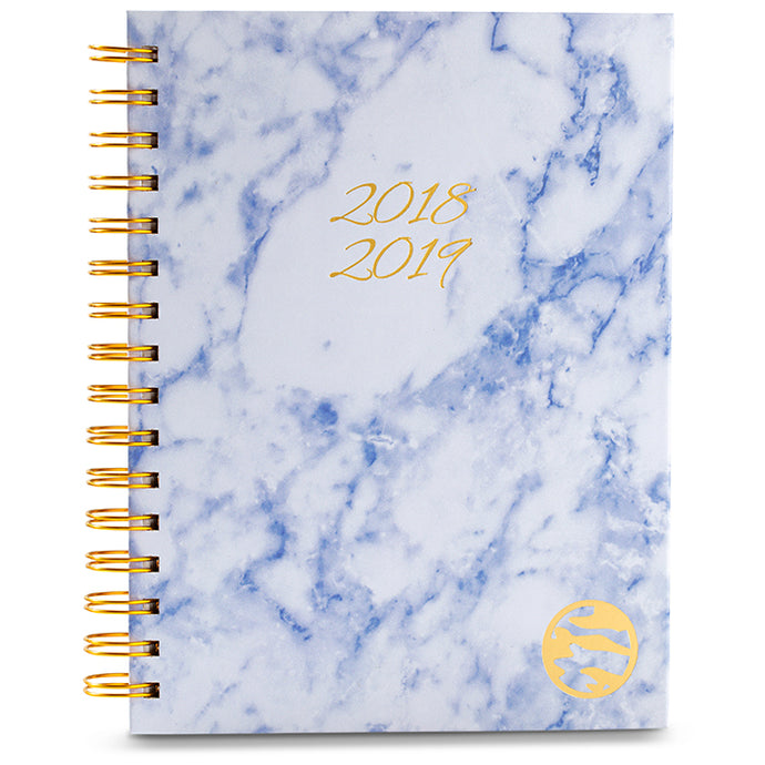 2018-2019 Planner - Blue Marble