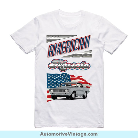 American Muscle 1969 Chevrolet Camaro Short Sleeve T-Shirt S / Front Of Shirt T-Shirt