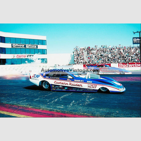 Al Hanna Eastern Raider Funny Car Full Color Drag Racing Photo 8.5 X 11