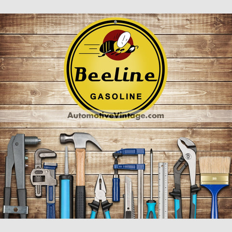 Beeline Gasoline Nostalgic Metal Sign