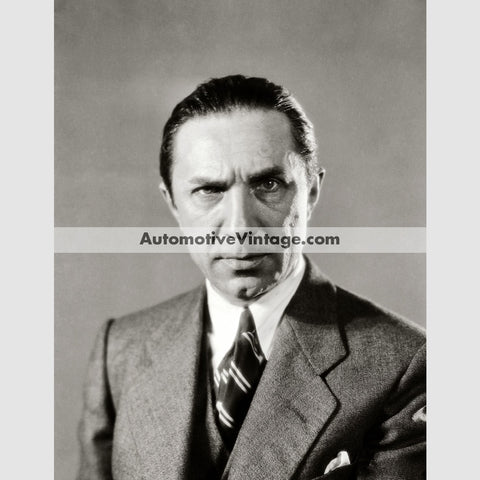 Bela Lugosi Glossy Black & White Vintage Movie Star Photo 8.5 X 11
