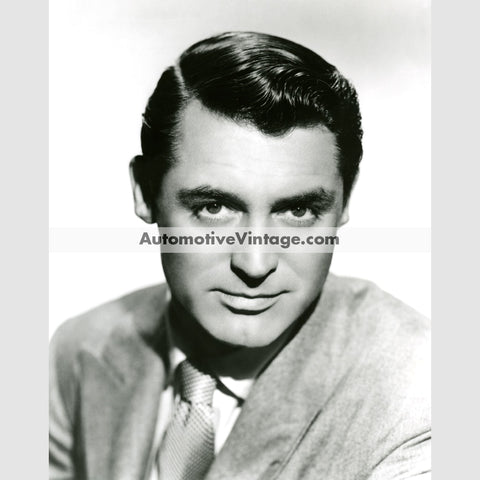 Cary Grant Glossy Black & White Vintage Movie Star Photo 8.5 X 11