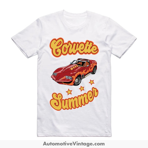 Corvette Summer Short Sleeve Movie T-Shirt S / Front Of Shirt T-Shirt