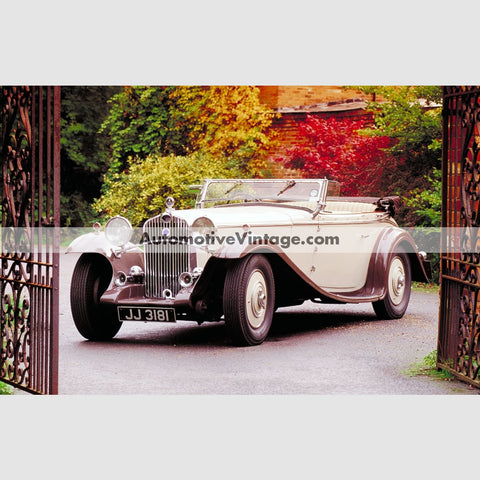 Delage High Resolution Full Color Premium Car Poster 24 Wide X 18