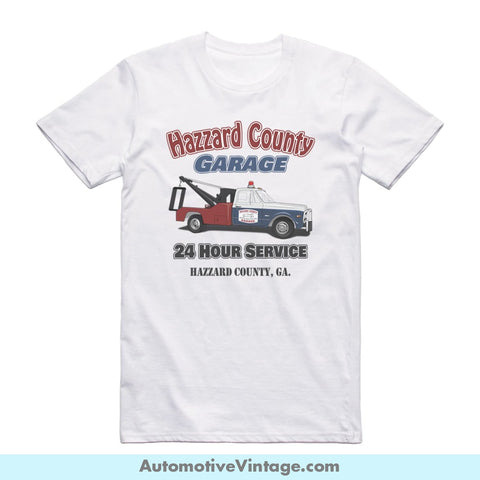 The Dukes Of Hazzard Cooters Tow Truck Short Sleeve Television T-Shirt S / Front Shirt T-Shirt