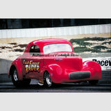 East Coast Raider Pro Stock High Resolution Full Color Premium Drag Racing Poster 24 Wide X 18