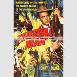Federal Man (1950) - Nostalgic Full Color Premium Movie Poster 18 Wide × 24 High