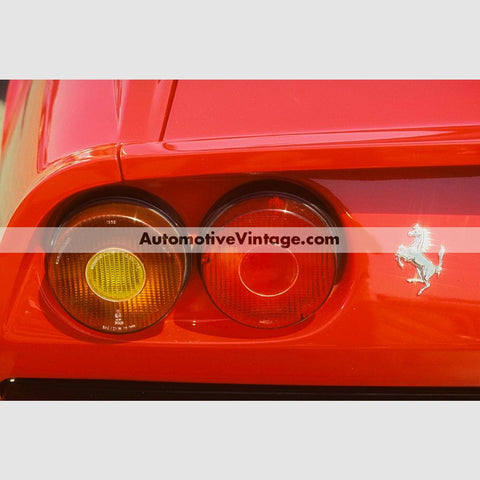 Vintage Ferrari High Resolution Full Color Premium Car Poster 24 Wide X 18