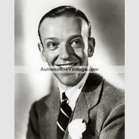Fred Astaire Glossy Black & White Vintage Movie Star Photo 8.5 X 11