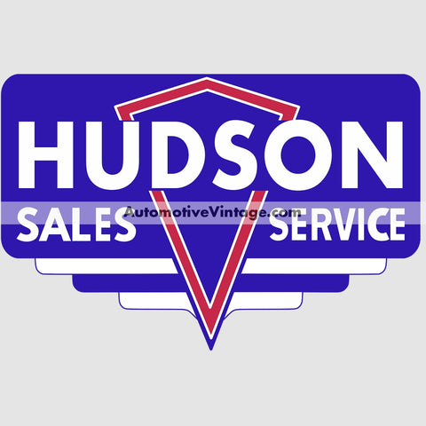 Hudson Sales And Service Auto Parts Car Sticker Stickers