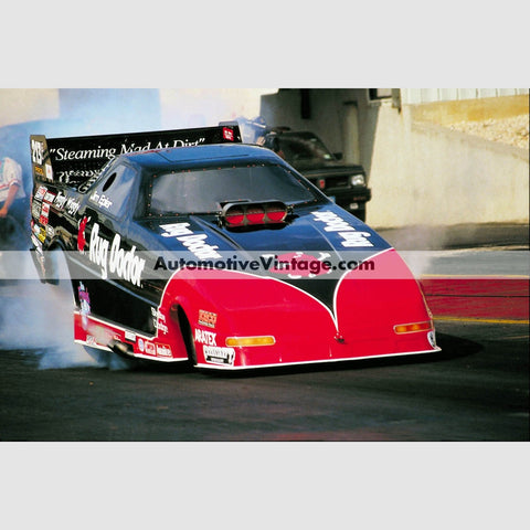 Jim Epler Rug Doctor Funny Car Full Color Drag Racing Photo 8.5 X 11