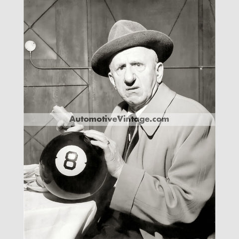 Jimmy Durante Glossy Black & White Vintage Movie Star Photo 8.5 X 11