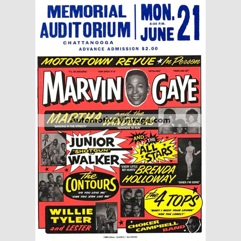 Marvin Gaye Nostalgic Music 13 X 19 Concert Poster Wide High