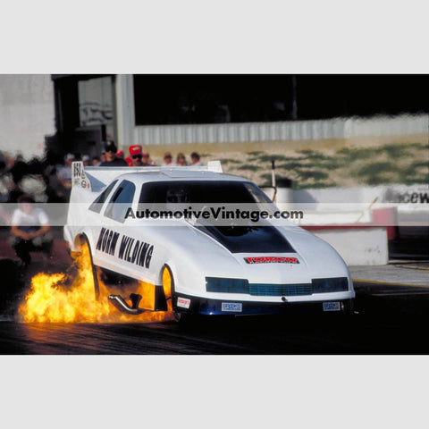 Norm Wilding Funny Car Full Color Drag Racing Photo 8.5 X 11