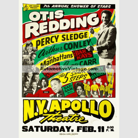 Otis Redding Nostalgic Music 13 X 19 Concert Poster Wide High