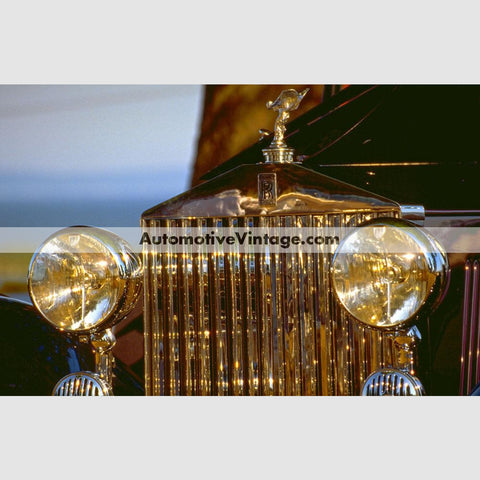 Vintage Rolls Royce High Resolution Full Color Premium Car Poster 24 Wide X 18