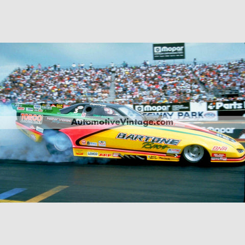 Tony Bartone Brothers Funny Car Full Color Drag Racing Photo 8.5 X 11