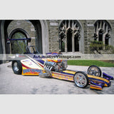 Big Time Dragster High Resolution Full Color Premium Drag Racing Poster 24 Wide X 18