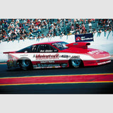 Bob Glidden Ford Probe High Resolution Full Color Premium Drag Racing Poster 24 Wide X 18