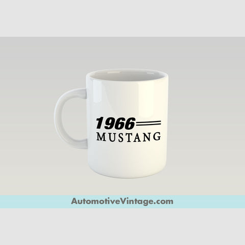 1966 Ford Mustang Premium Coffee Mug
