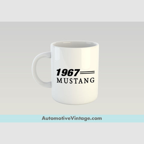 1967 Ford Mustang Premium Coffee Mug