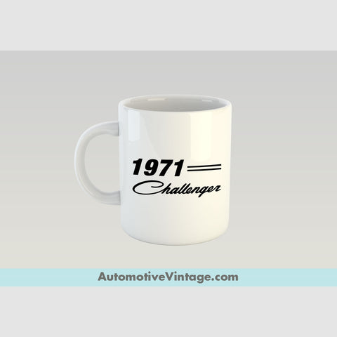 1971 Dodge Challenger Premium Coffee Mug