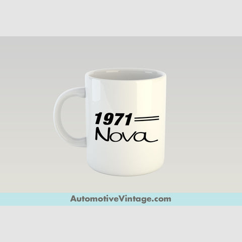 1971 Chevrolet Nova Premium Coffee Mug