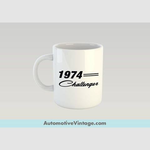 1974 Dodge Challenger Premium Coffee Mug