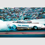 Paul Johnson Pontiac Firebird High Resolution Full Color Premium Drag Racing Poster 24 Wide X 18