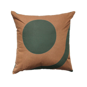Square Pillow - Lines and Shapes B