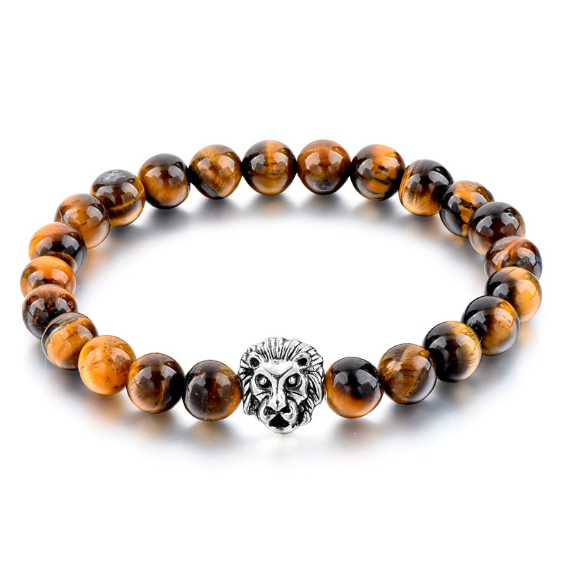 Gold Lion Bracelet | Free Shipping For A Limited Time