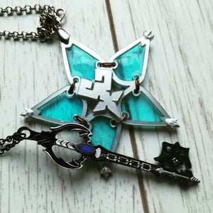 Kingdom hearts oblivion keyblade necklace - Geek And Artsy