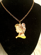 Belle- beauty and the beast necklace - Geek And Artsy