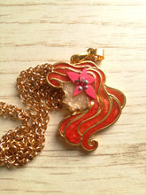 Ariel- Disney princess cameo stained glass necklace - Geek And Artsy