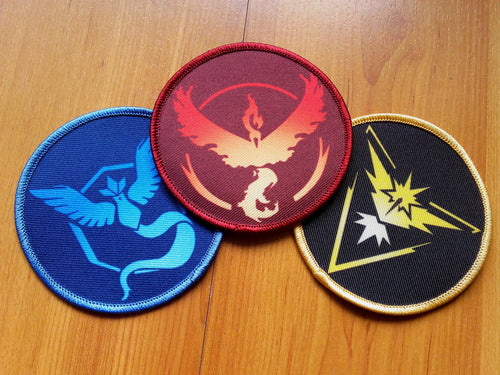 Pokémon GO team patches cosplay - Geek And Artsy