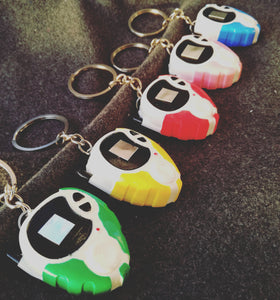 Digimon D3 digivice keychain