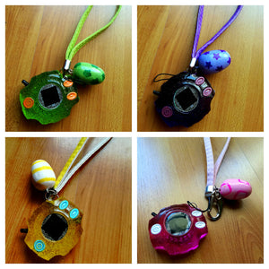 Digimon digivice keychain strap - Geek And Artsy