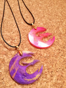 Star wars rebels sabine wren phoenix necklace, rebels symbol necklace - Geek And Artsy