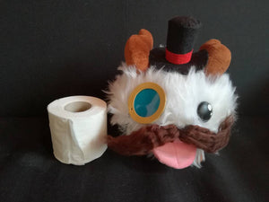 League of legends gentleman poro plush, sir poro plushie - Geek And Artsy